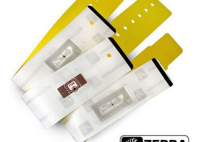 Direct Thermal UHF RFID Wristbands